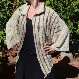 Vintage Upcycled Sweater Soft Oversize Poncho
